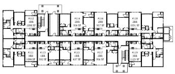 apartment building design plans and