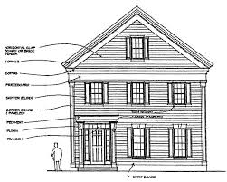 100 federal style house plans apartments winsome federal