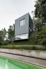 hidden in mexico modern home blends into its surroundings and is