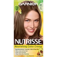 light ash brown hair color garnier nutrisse nourishing color creme 61 light ash brown