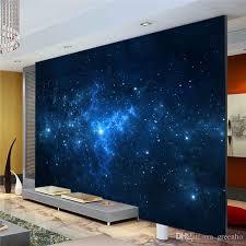 galaxy wall mural blue galaxy wall mural beautiful nightsky photo wallpaper custom
