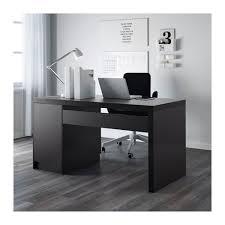 Oak Veneer Computer Desk Ikea Malm Computer Desk