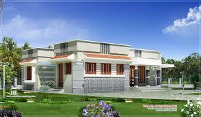 modern flat roof house planss single y kerala style sea image of