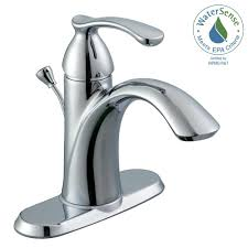 Centerset Faucet Definition by Moen Voss 4 In Centerset 2 Handle Bathroom Faucet In Chrome 6901