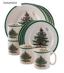 spode tree 12 dinnerware set service for 4 new ebay