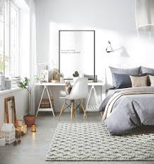 gravity home bedroom with workspace in a 3d scandinavian