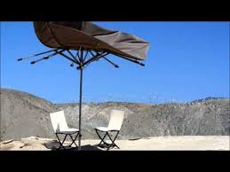 Wind Resistant Patio Umbrella Patio Umbrella Vs Wind Yes It S Supposed To Do That