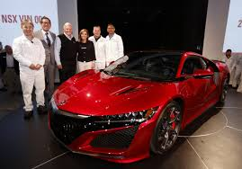 first acura first 2017 acura nsx rolls off the line and it u0027ll get android