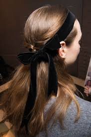 bow hair fall 2017 hair trends best hairstyles for autumn 2017