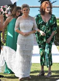 wedding dress cast home and away cast for marilyn and s wedding