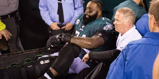 eagles u0027 jason peters out for year with torn acl mcl