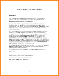 28 images of standard non compete agreement template infovia net