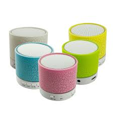 portable speaker with lights mini portable bluetooth speaker with built in mic and led light