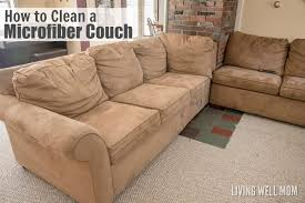 How To Clean Sofas by How To Clean A Microfiber Couch And Remove Pen U0026 Marker Stains