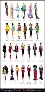 Fashion Stuff Disney Characters Reimagined As Fashion Runway Models Geek