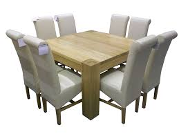 Diy White Dining Room Table Stunning 8 Seater Square Dining Room Table Ideas Including And