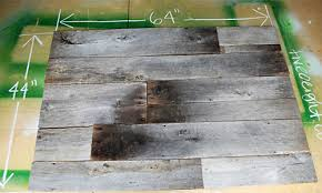 How To Make A Tabletop Out Of Reclaimed Wood by Diy Project Salvaged Barnwood Headboard U2013 Design Sponge