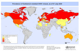 Norway On World Map by Who Influenza A H1n1 Virus Resistance To Oseltamivir