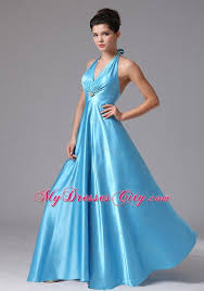 cheap light blue bridesmaid dresses stylish baby blue halter long bridesmaid dress with backless