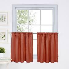 Orange Kitchen Curtains Sale Cameron Kitchen Curtains Spice Boscov U0027s