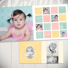 baby photo albums 10 x 10 baby album me grow year book template for