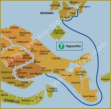 venice vaporetto map water venice vaporetto map of line 7 actv