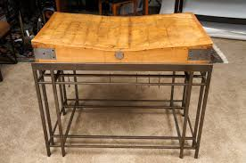 butcher block kitchen table boos endgrain cherry tuscan isle