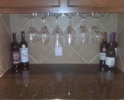 cabinet thrilling under cabinet wine glass stem rack charismatic