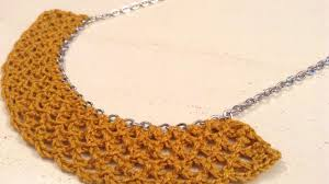 chain necklace diy images How to crochet a chain necklace with guidecentral diy style jpg