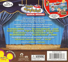 einsteins musical missions disney songs reviews