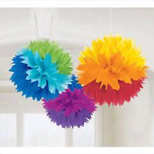 Pom Pom Decorations Fluffy Decorations Ebay