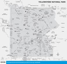 Map Of Yellowstone Park The Truth About Yellowstone U0027s Supervolcano Moon Com