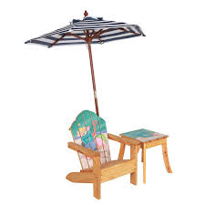 Wooden Table And Chairs Outdoor Winland Palm Tree Outdoor Wood Kids Adirondack Chair With Table