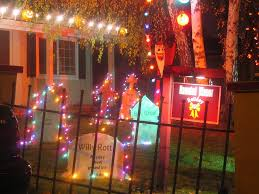 halloween yard lighting realistic halloween yard decorations that will scare your