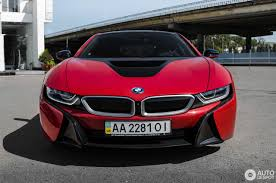 Bmw I8 Red - bmw i8 protonic red edition 21 september 2017 autogespot