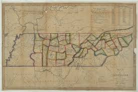 Tennessee Map With Counties by Library U0026 Archives News The Tennessee State Library And Archives