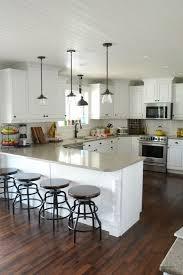 White Cabinets With Grey Quartz Countertops This Is It White Cabinets Subway Tile Quartz Countertops