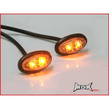 flush mount led lights 12v amber 12v oval flush mount led mini marker lights moto vision
