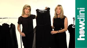 fashion tips how to choose the perfect little black dress youtube
