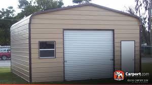 metal garage with regular roof 18 u0027 x 21 u0027 shop metal garages online