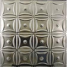 amazon com ceiling tiles tin plated steel diamond 2 u0027 x 2