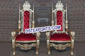 indian wedding chairs for and groom indian handicrafts exporters and indian wedding accessory and