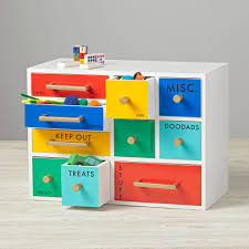 Desk Storage Drawers Color Coded Drawers The Land Of Nod