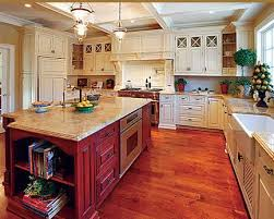 Kountry Kitchen Cabinets Best 25 Red Kitchen Island Ideas On Pinterest Red Kitchen