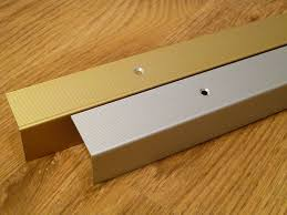 Laminate Floor Stair Nose Aluminium Stair Edge Nosing Trim 30x30 Anodised Gold Amazon Co