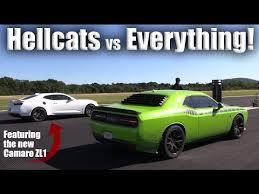 camaro zl1 vs corvette z06 hellcat vs camaro zl1 gt r shelby gt500 corvette z06 more