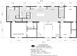 Floor Plans For Trailer Homes 100 1 Bedroom Mobile Homes Floor Plans Manufactured Homes