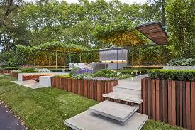landscape architect wins melbourne show garden gold medal with