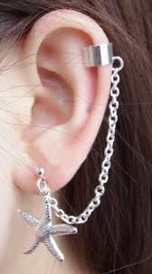 best earrings for cartilage 22 best pircings images on cartilage earrings