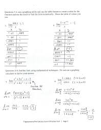 Cell Division Worksheet Answers Chapter 11 Limits And An Introduction To Calculus Crunchy Math
